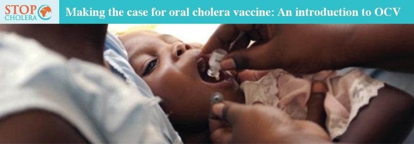 A child in Artibonite Valley region of Haiti receives oral cholera vaccine. Photo: Jon Lascher, Courtesy of Partners In Health (2012).