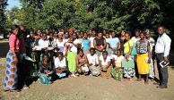 Members of the Malawi field team who visited pregnant women monthly to check on status of pregnancy and encourage them to go for pre-natal visits