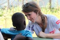 A child receives services in South Sudan. Photo: Ella Glass, Courtesy of Medair (2017)